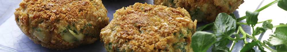 Smoked Haddock and Parsley Fishcakes