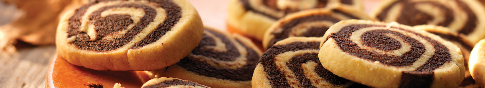 Orange And Chocolate Whirls