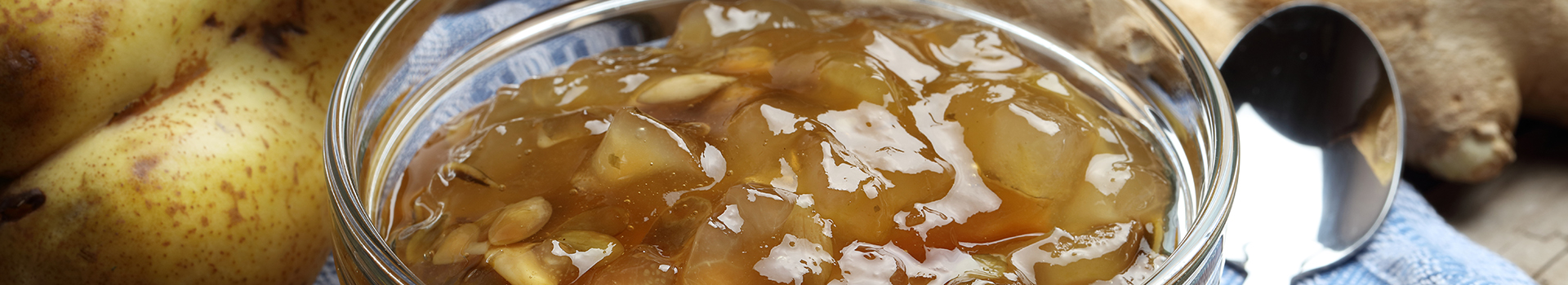 Pear and Ginger Preserve