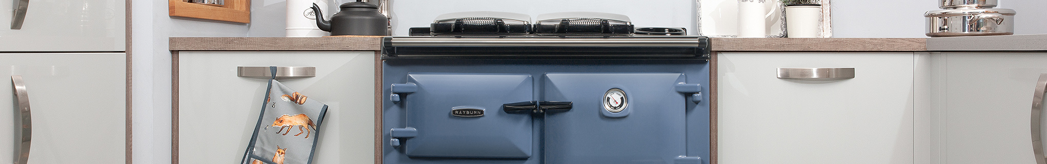 Dartmouth Blue Rayburn cooker