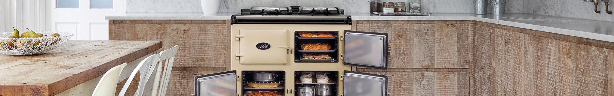 AGA cast-iron cookers
