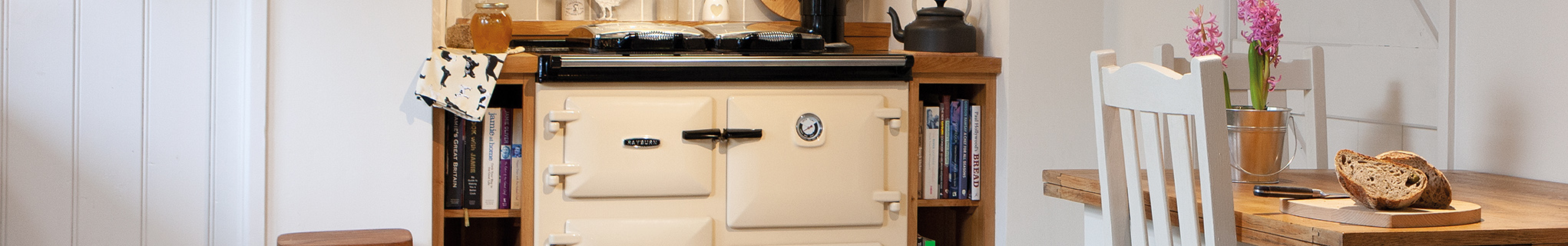 Rayburn cast iron cookers