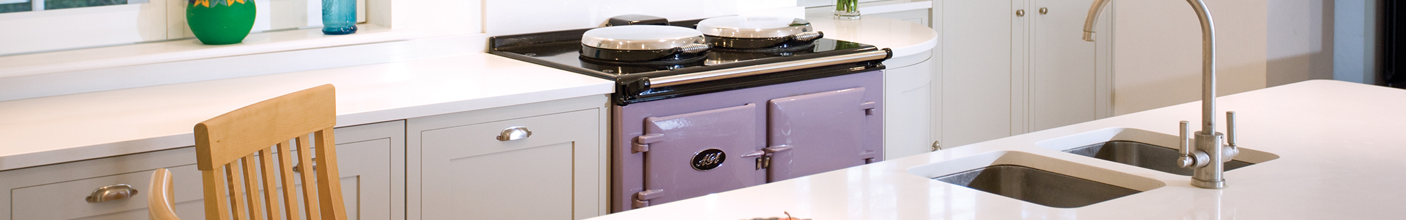 AGA Dual Control in Heather