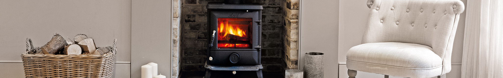 AGA Ludlow Stoves Banner