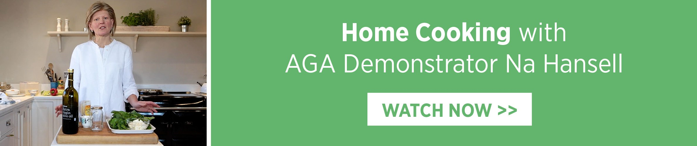 Home Cooking with AGA Demonstrator Na Hansell