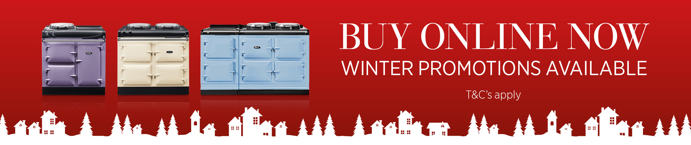 AGA Winter Promotions