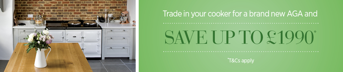 Save up to £1,990 when you trade in your cooker