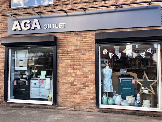 The AGA Outlet shop in Telford, Shropshire
