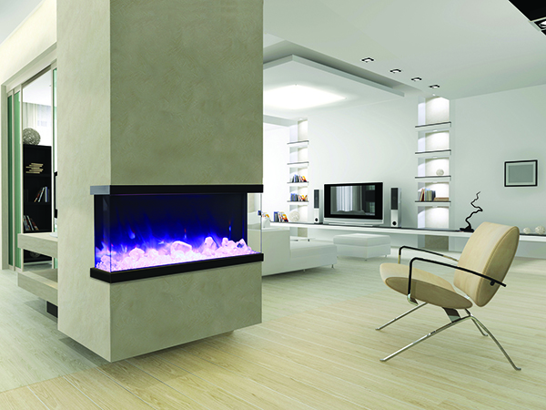 Rayburn Stratus Tru View Electric Fire