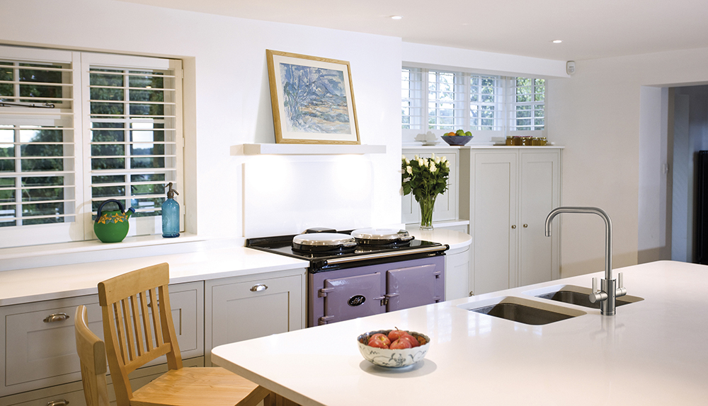 The AGA tap is ideal for modern and traditional kitchens