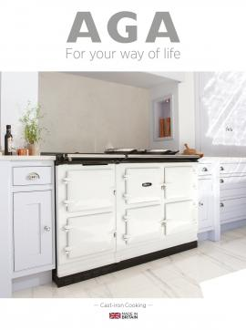 AGA Cast Iron Cooking Brochure