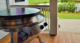 The AGA Professional Series Outdoor Grill by Evo