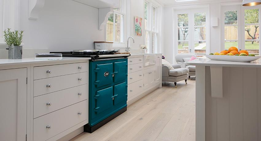 AGA Total Control in new Salcombe Blue