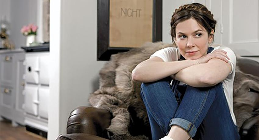 At home with Anna Friel