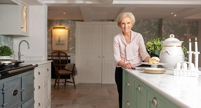 Mary Berry's new kitchen