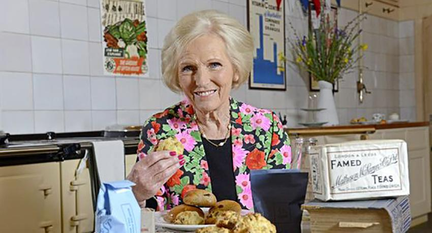 Mary Berry at Upton House