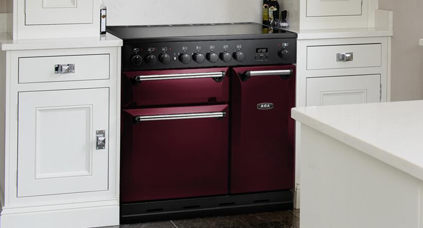 AGA Masterchef Deluxe in Cranberry