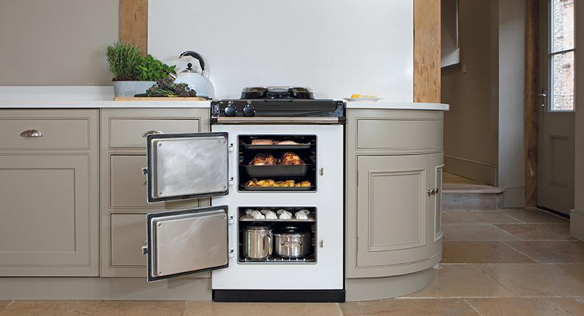 AGA 60 in White open