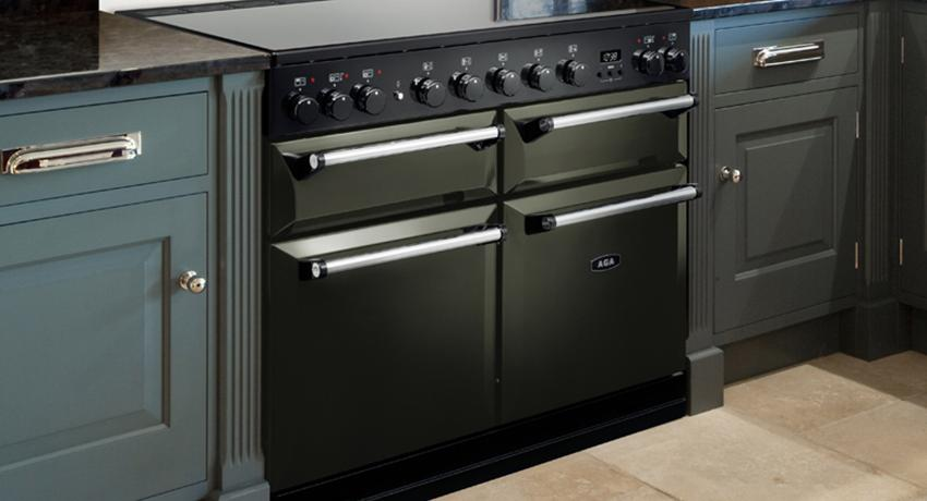 AGA Masterchef Deluxe in Pewter