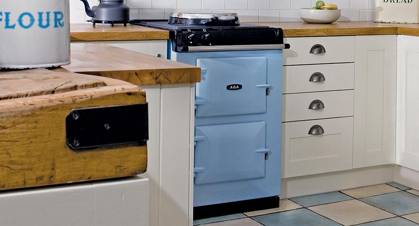 AGA 60 in Duck Egg Blue