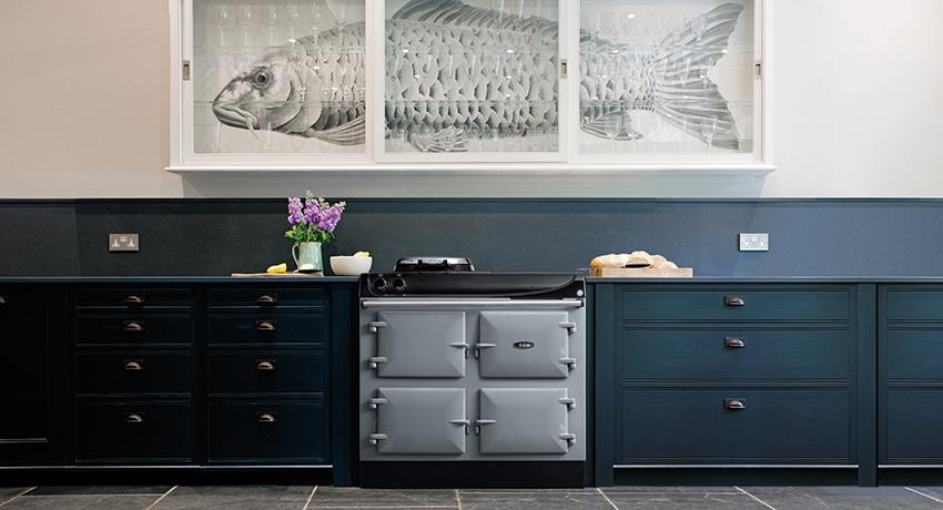 AGA 3 Series 100cm in Dove