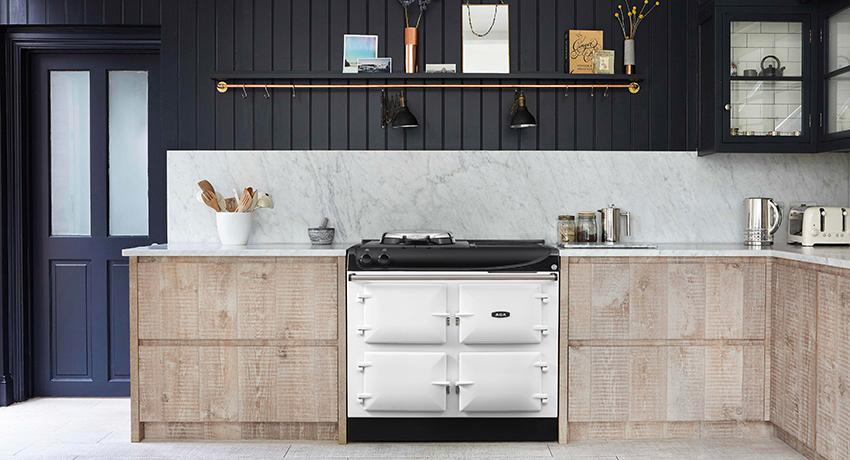 AGA 3 Series 100cm in White