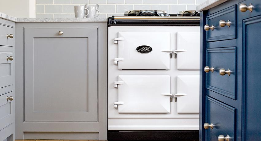 AGA Dual Control in White
