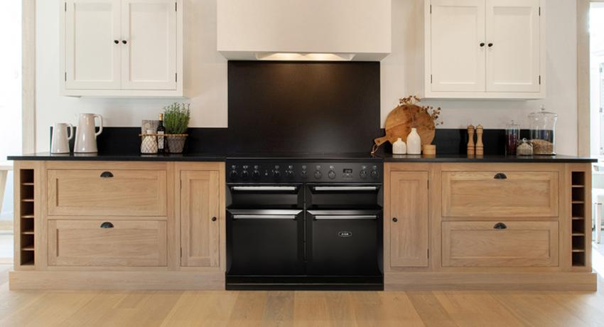 AGA Masterchef Deluxe in Black