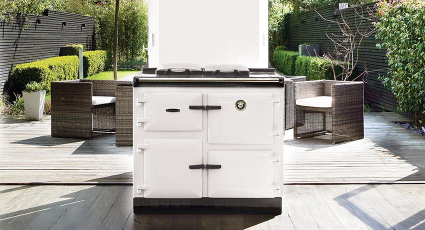 Rayburn 600 Series in White