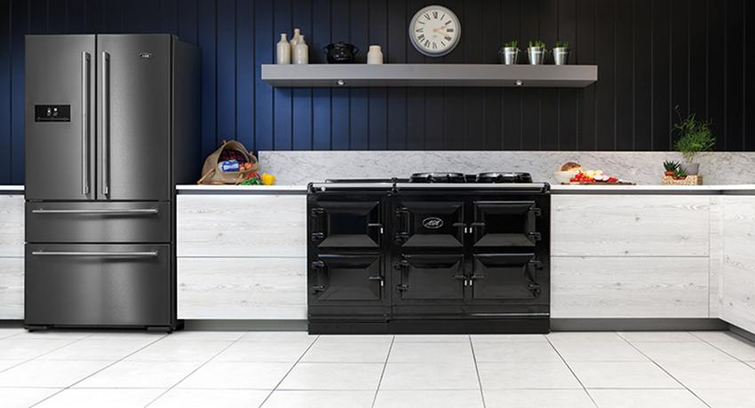 The AGA DxD Refrigerator in Dark Inox
