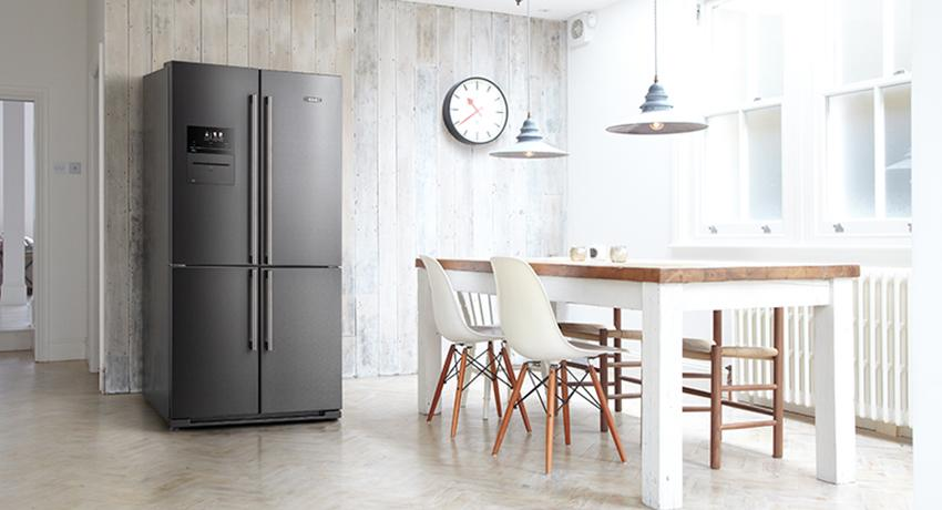 The AGA 4-Door Deluxe American style Fridge-Freezer