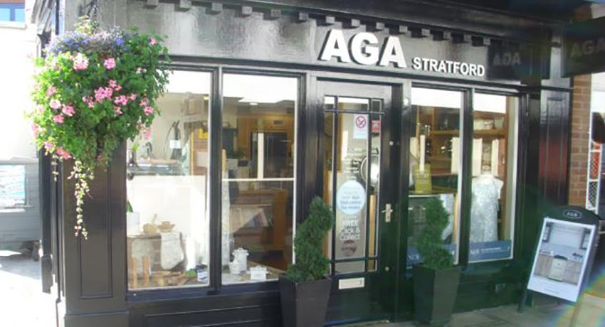 The AGA shop in Stratford