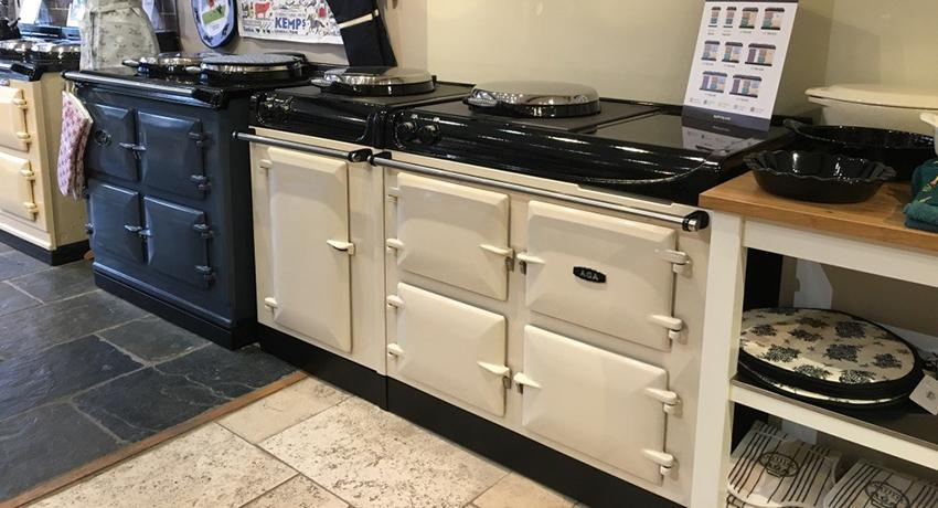 AGA eR3 Series cooker at Country Warmth