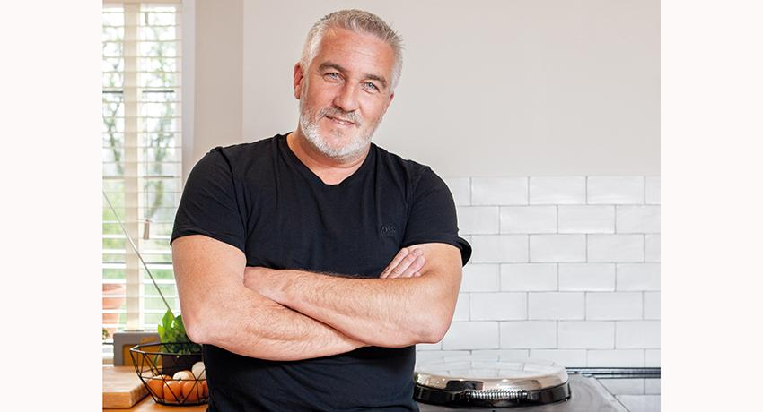 Paul Hollywood in his home