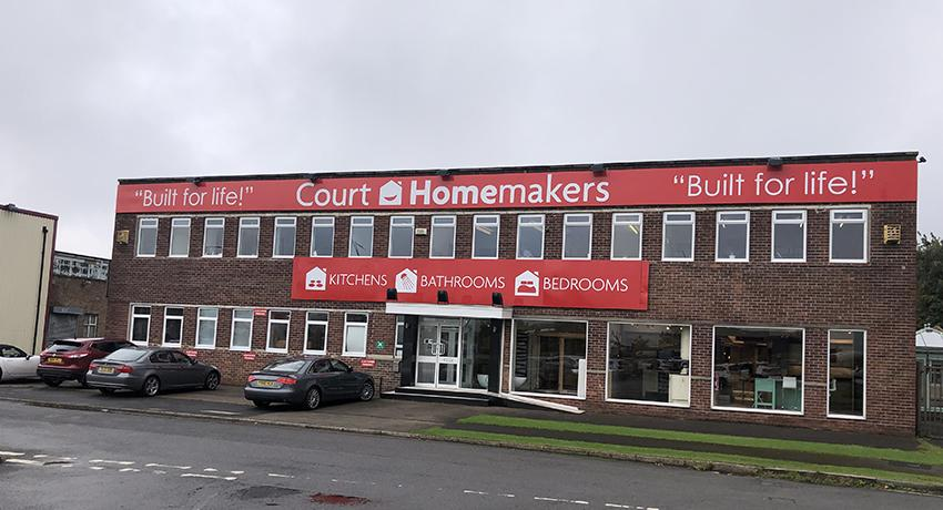 Court Homemakers shop exterior