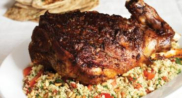 Moroccan Harissa Lamb and Couscous