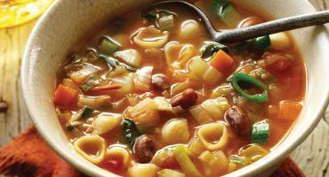 Autumn Vegetable Soup – Italian Style