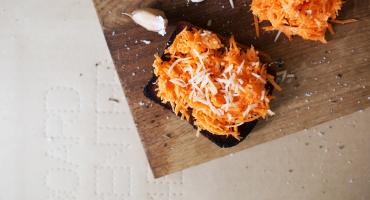 Carrot Bruschetta