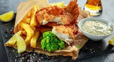 AGA Fish and Chips