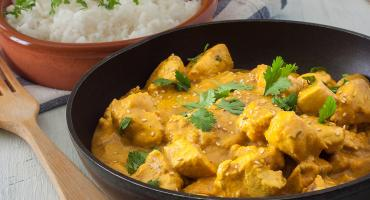 Hazel's Chicken Curry With Lime