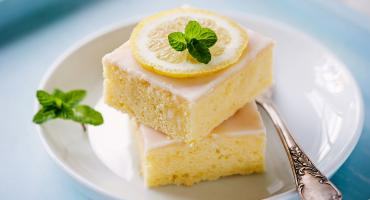 Lemon And Violet Slices