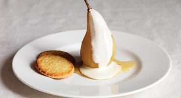 Pears with Cardamom