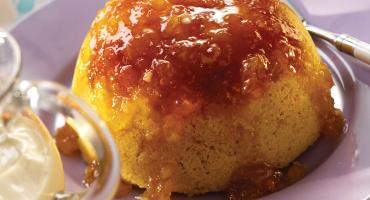 Steamed Marmalade Pudding