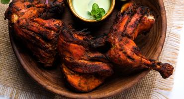 Tandoori Chicken With Mint Yoghurt