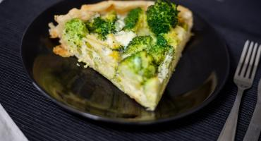 Broccoli And Goats' Cheese Tart