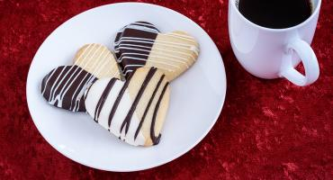 Chocolate Shortbread Biscuits