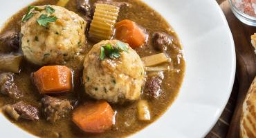Pork Stew With Dumplings
