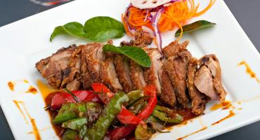 Stir Fry Duck with Satay Sauce