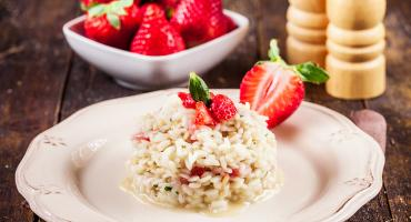 Fusion - Griddled Radicchio and Strawberry Risotto