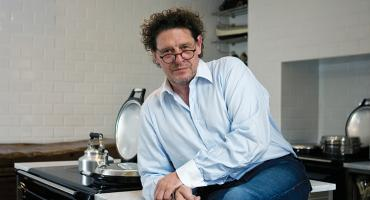 Marco Pierre White at Home with His AGA